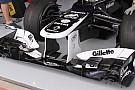 La Williams ha usato l'ala nuova anteriore