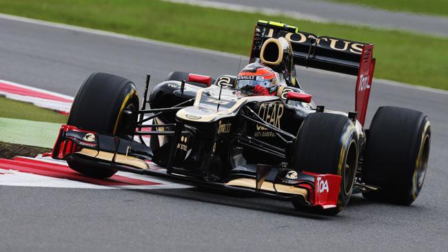 Grosjean perde 5 posizioni in griglia ad Hockenheim