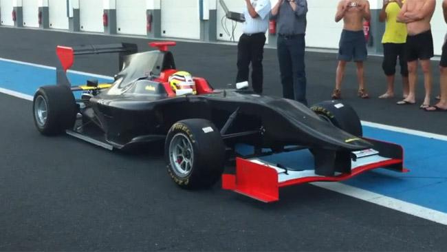 La nuova monoposto di GP3 svelata su Youtube!