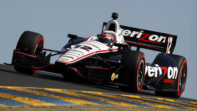 Will Power piazza la pole position a Sonoma