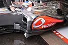 La McLaren copia la Sauber con il deviatore di flusso
