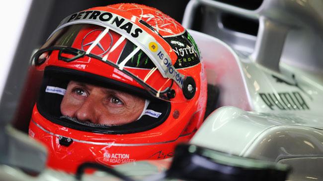 Monza, Libere 1: Schumacher torna in vetta