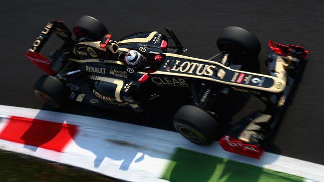 La Lotus porta una nuova ala posteriore a Singapore