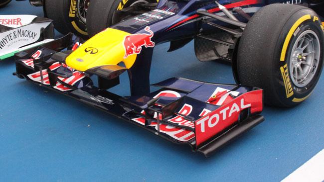 La Red Bull ha usato in qualifica un'ala nuova