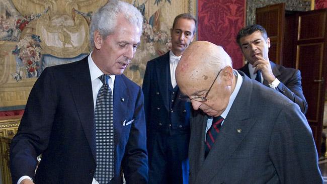 La Pirelli festeggia i suoi 140 anni con Napolitano