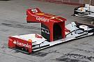 Quattro ali anteriori nuove per la Ferrari