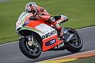 Hayden promuove il nuovo telaio della Ducati