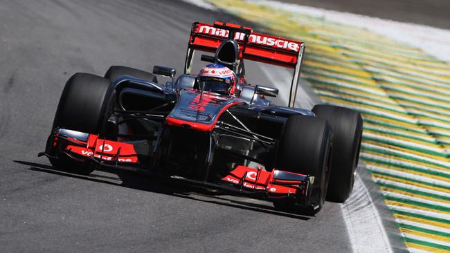 Interlagos, Libere 3: spunta Button davanti a Vettel
