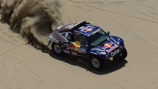 Dakar, Auto: Sainz retrocesso al decimo posto