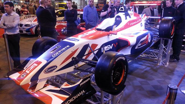 Ecco la Formula 4 di Jonathan Palmer