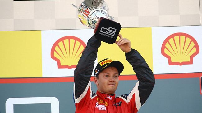 Matias Laine dalla GP3 alla World Series