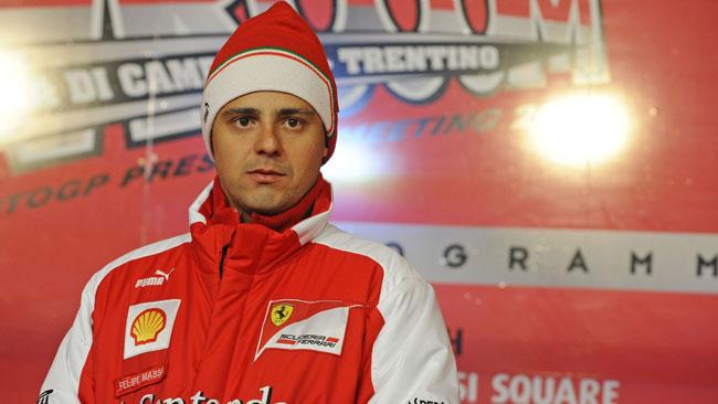Prima prova sedile con la vettura 2013 per Massa