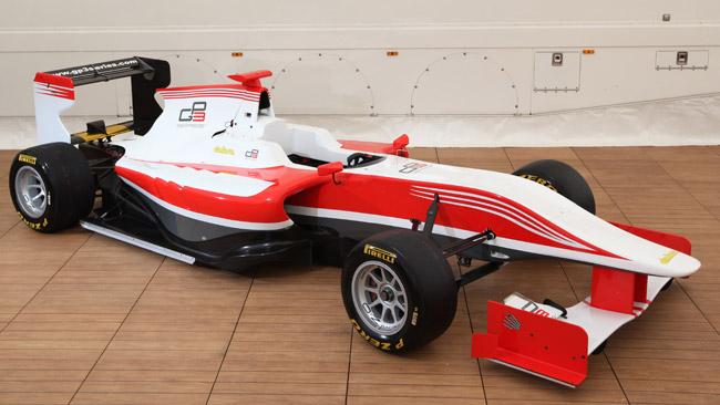 Dallara espone la GP3 al Motorsport Expotech
