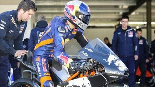 Shakedown ad Almeria per le KTM ufficiali