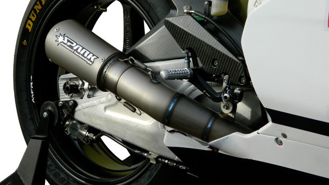 Spark Exhaust partner tecnico del Team Gresini