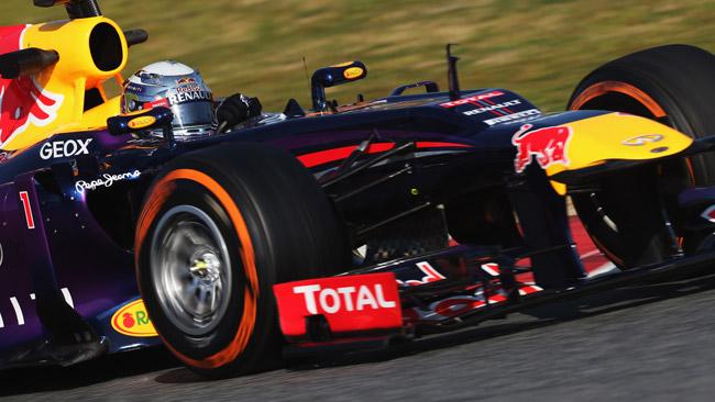 Barcellona, Day 2, Ore 13: Vettel comanda alla pausa