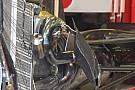 Ecco i radiatori verticali a ventaglio della Ferrari