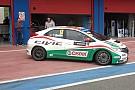 Shakedown per le due Honda Civic a Franciacorta