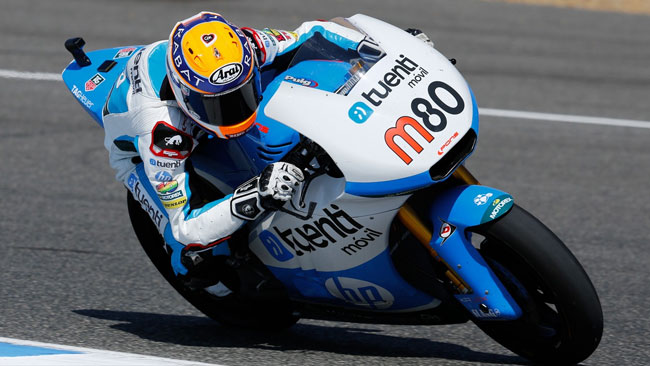Prima pole in carriera per Esteve Rabat a Jerez