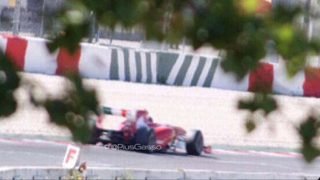 Test Pirelli: ecco la foto della Ferrari 150 Italia
