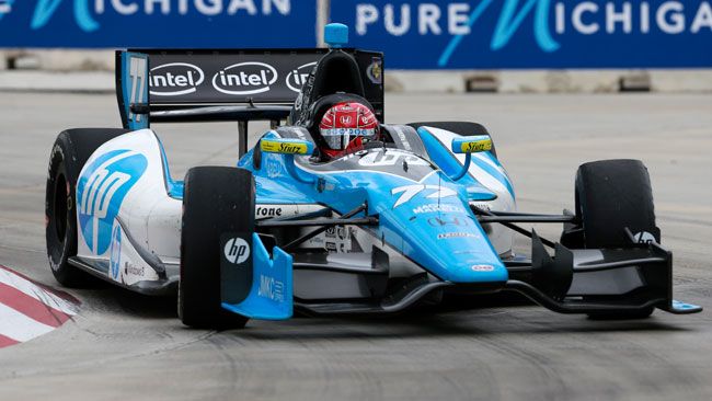 Prima vittoria per Pagenaud in gara 2 a Detroit