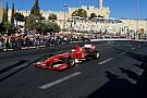 In 60mila per l'esibizione della Ferrari a Gerusalemme