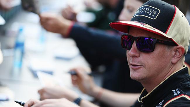 Kimi Raikkonen presente ai test di Silverstone