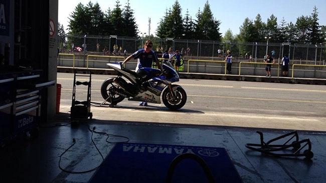Finalmente la Yamaha ha provato il cambio seamless