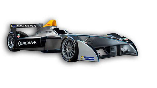 Svelate le forme della vettura della Formula E
