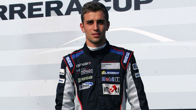 Alberto Cerqui scelto per la Scholarship Porsche