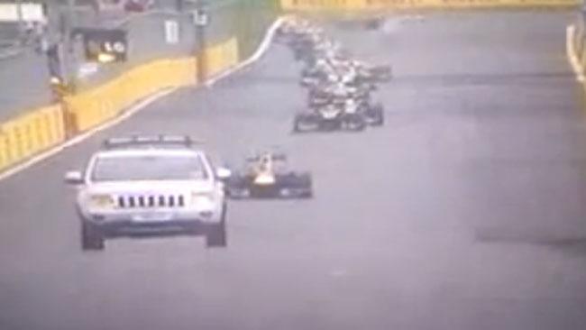 La FIA ha chiesto l'intervento del mezzo dei pompieri