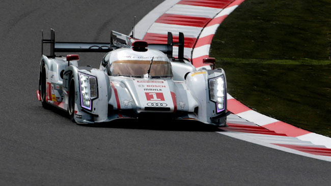 Pole position marchiata Audi anche al Fuji