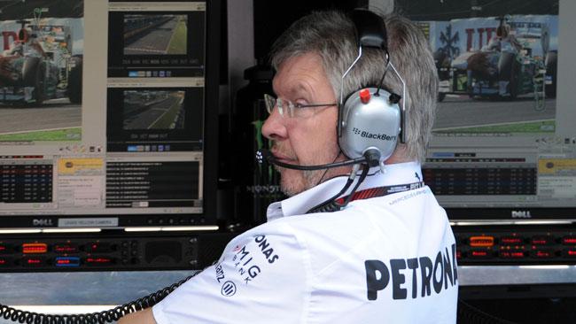 Oggi Brawn lascia ufficialmente la Mercedes?