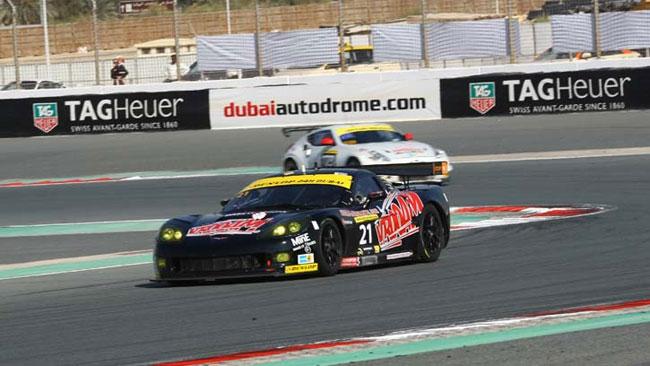 24 Ore di Dubai: Pastorelli mette in pole la Corvette