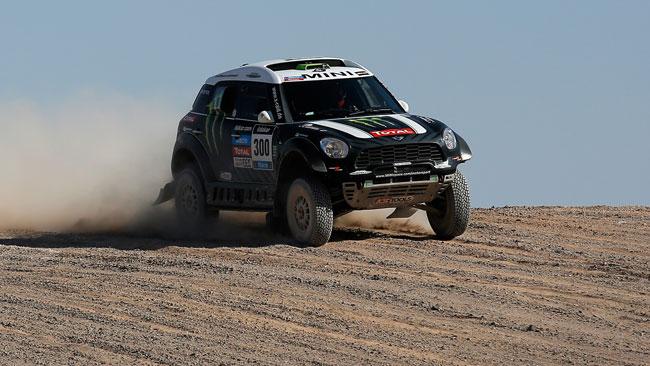 Dakar, Tappa 12, Auto: Peterhansel scavalca Roma!