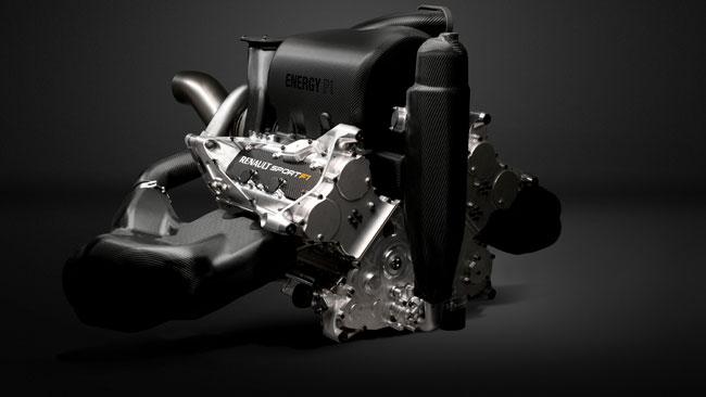 Renault Energy F1: nuove immagini della power unit