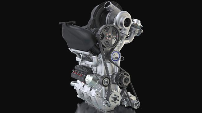 Il motore della Nissan ZEOD RC è compattissimo!