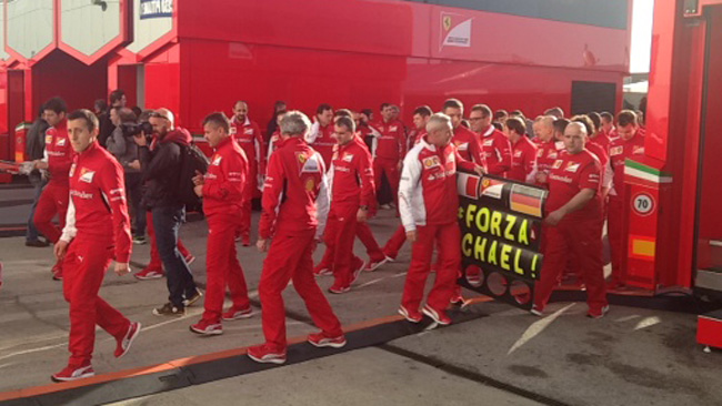 #Forza Michael: firmato Scuderia Ferrari