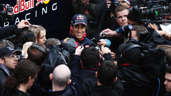 Daniel Ricciardo non è preoccupato dalla Mercedes