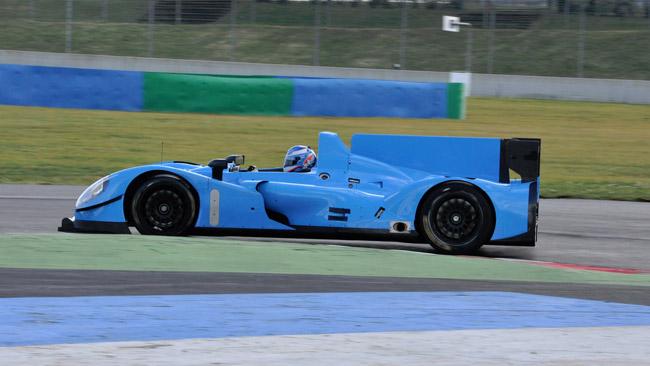 Shakedown a Magny-Cours per la Pegasus Racing