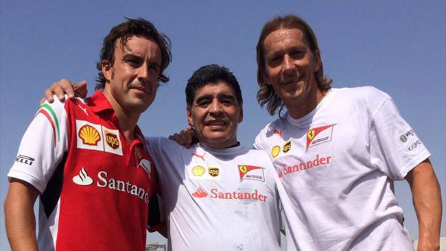 Alonso sfida Maradona a calcio a Dubai