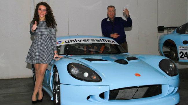 Alessandra Brena nell'Europeo GT4 con una Ginetta