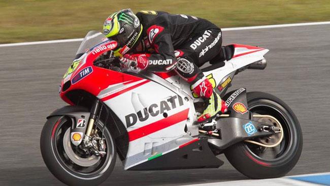 Il maltempo condiziona i test della Ducati a Jerez