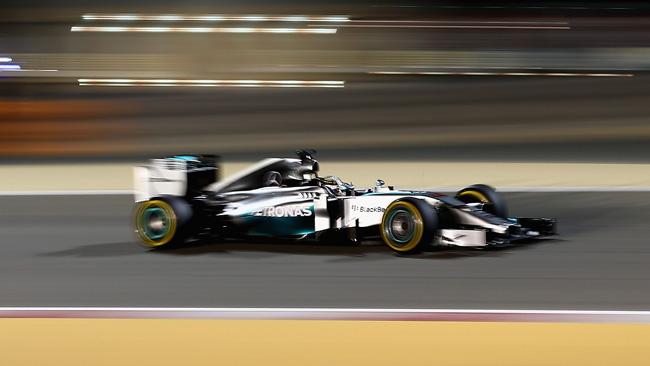 Hamilton dopo la battaglia con Rosberg a Sakhir