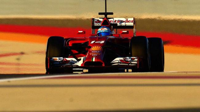 Ferrari ferma dopo 12 giri: il telaio era danneggiato