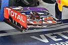 Red Bull: ala anteriore con più carico e soffiaggi