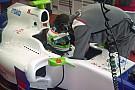 Simona De Silvestro gira  a Fiorano sulla Sauber C31