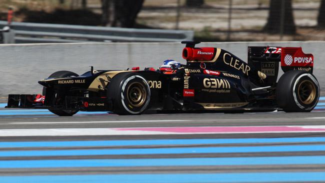 Leimer ha provato la Lotus 2012 grazie alla Pirelli