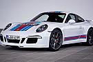 La 911 nella livrea Martini celebra il ritorno a Le Mans