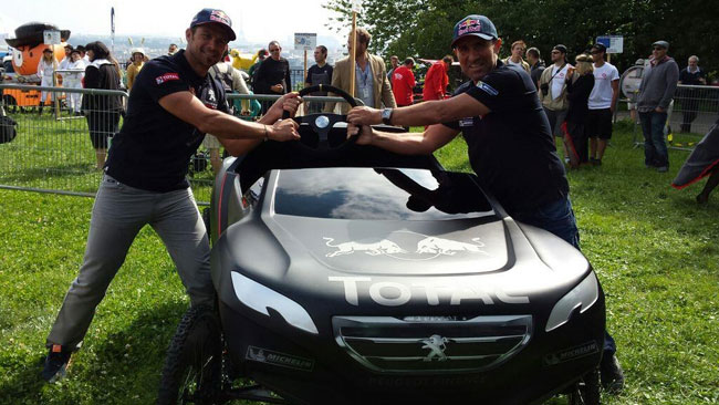 Dakar: oggi alle 17 la Peugeot annuncia Peterhansel